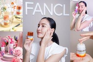 FANCL新品X週年慶優惠,經典、新品到限量包裝打造燈泡美肌超Bling|小編直擊採訪